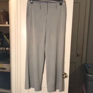 Victoria's Secret gray wide leg dress slacks sz 8
